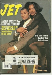 Jet Magazine 6 21 1993 Angela Bassett Laurence Fishburne African Names 4 Kids | eBay