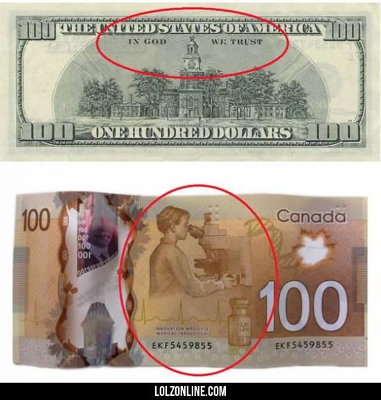 Difference between USA and Canada#funny #lol #lolzonline