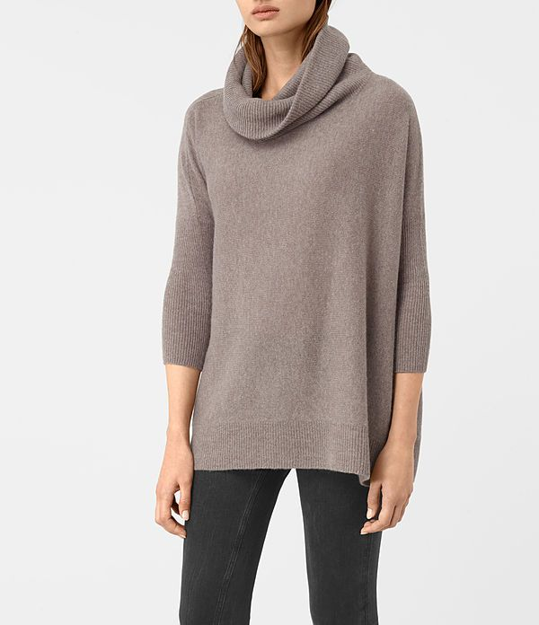 Fight the drop in temperatures with oversized cosiness, the Tiff Cashmere