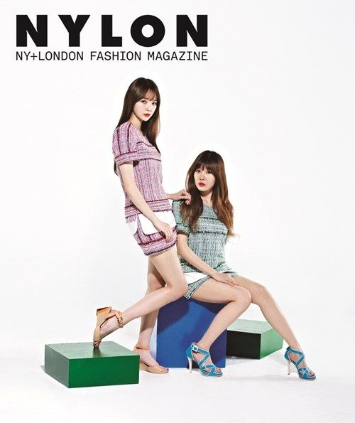 Davichi's Kang Min Kyung and Haeri pair up for 'Nylon'