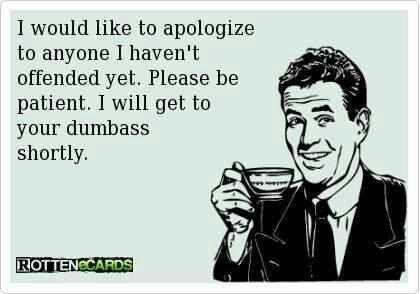 Republican apology