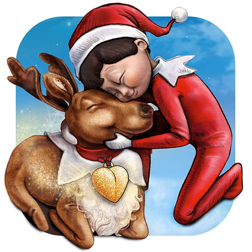 Elf Pets Reindeer Virtual Pet Mobile App - Available now on iTunes | The Elf on the Shelf | Children's Apps | Children's Games