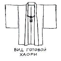 Мужская японская одежда. Хаори. (С) Ольга Хованчук, 2004
