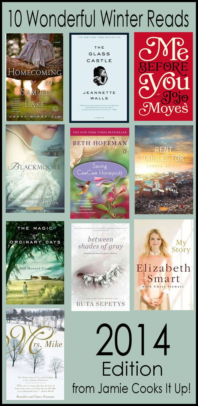 10 Wonderful Winter Reads (2014 Edition) and $100 Amazon Gift Card GIVEAWAY from Jamie Cooks It Up!