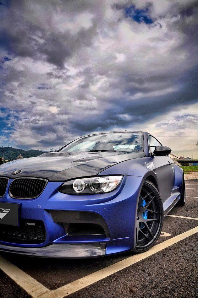 BMW M3 Matt blue