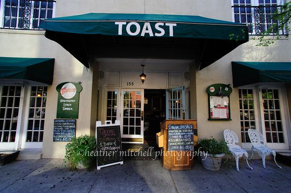 Toast - Charleston, SC...best breakfast in downtown.  if you enjoy french toast, this is the place to order it.