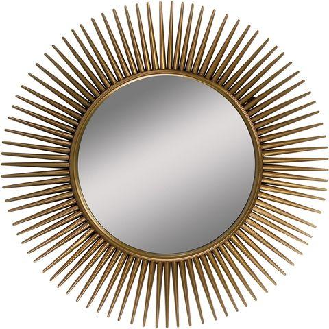 Spegel Sol, 55 cm i metall, flera färger, 3110016