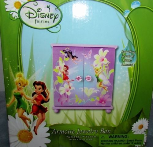 Disney Fairies Jewelry Box Best images about birthday presents on