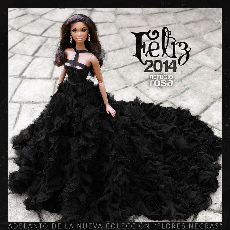 Feliz 2014 ( Happy 2004). Barbie Ooak doll by David Bocci for Refugio Rosa.