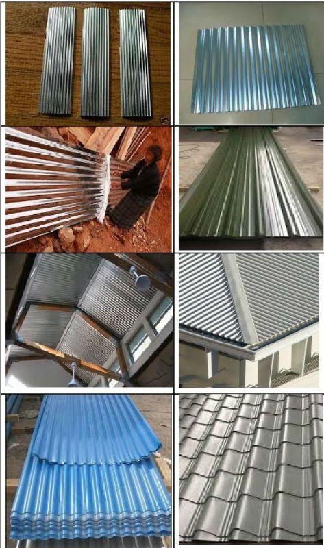 Galvanized Corrugated Tin Sheet Corrugated Roof Tin Tin