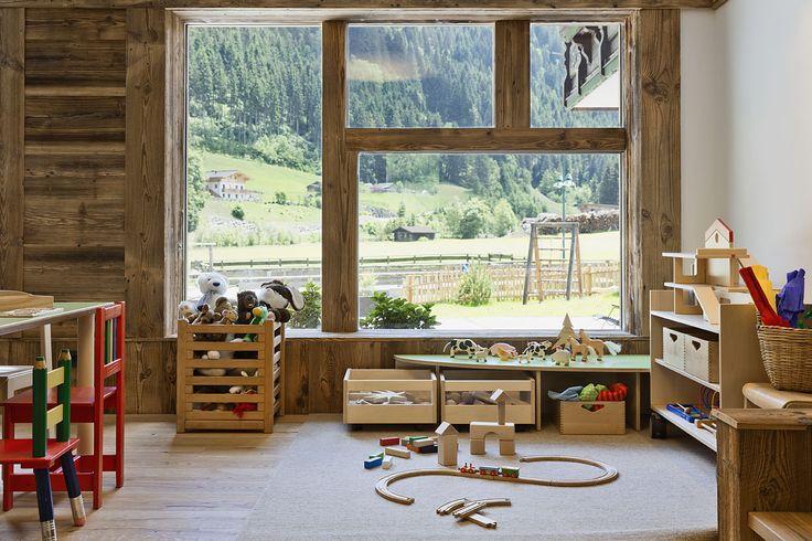 Feriendorf Grossarl Holzlebn Spielzimmer