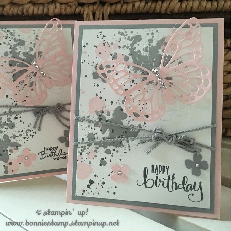 Love #gorgeousgrunge - such a simple stamp set for a card!   www.bonniestamp.stampinup.net