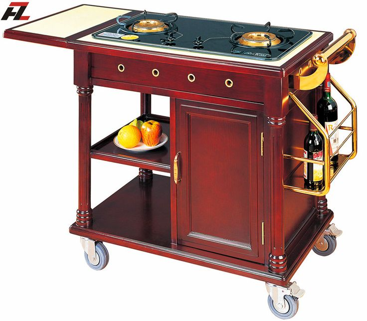 Restaurant Kitchen Gas Stove 18 best flambe cooking trolley images on pinterest | kitchen carts
