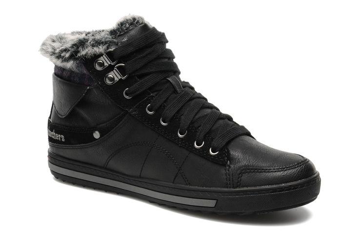 Skechers Kicks Coolest 47971 (Noir) - Baskets chez Sarenza (161691)