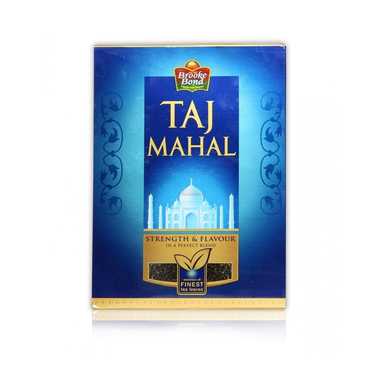BROOKE BOND TAJ MAHAL TEA 900G - Do you miss Indian drinks? Here we are with a great range of drinkables that may refresh you and arouse your appetite with an Indian taste. Step in your mornings with tea or coffee and continue your day with healthy soups and juices that is served in India. Satisfy your thirst with a quaff of an Indian drink in Australia!