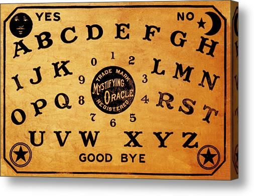 7 best blueprints images on pinterest blueprint drawing canvas ouija board 3 canvas print canvas art by tony rubino malvernweather Images