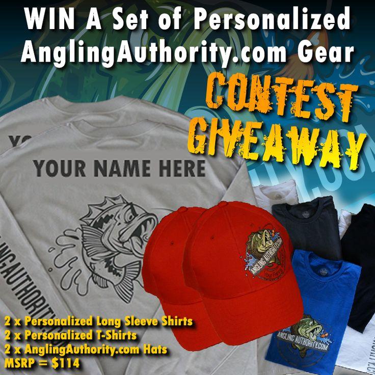 Win 2 AnglingAuthority.com Gear Prize Packs for You AND Your Fishing Buddy - AnglingAuthority.com http://anglingauthority.com/2014/07/win-set-personalized-anglingauthority-com-gear/