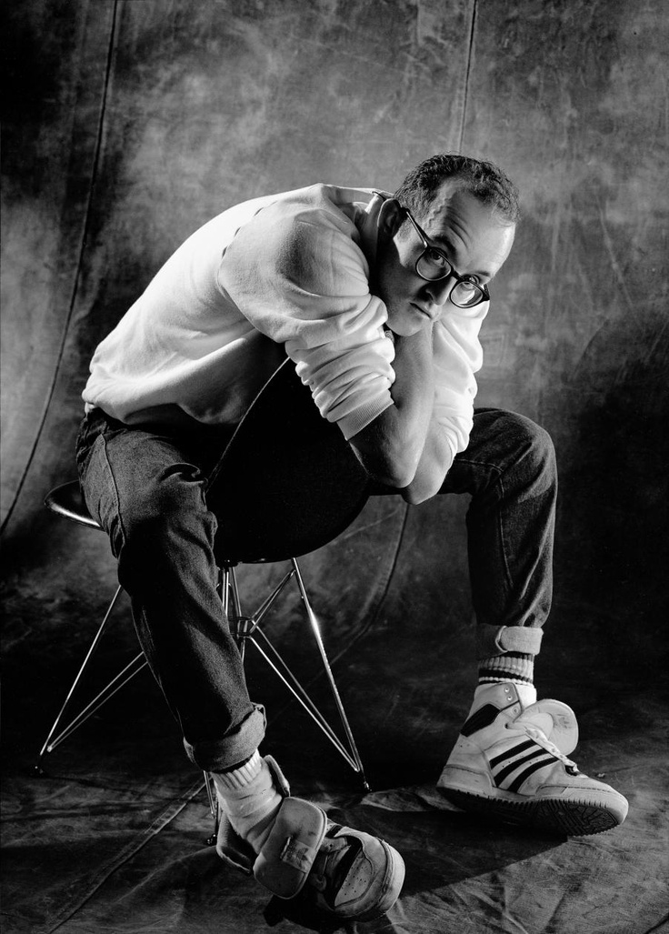 Keith Haring, Vitra Personnalities, by Christian Coigny