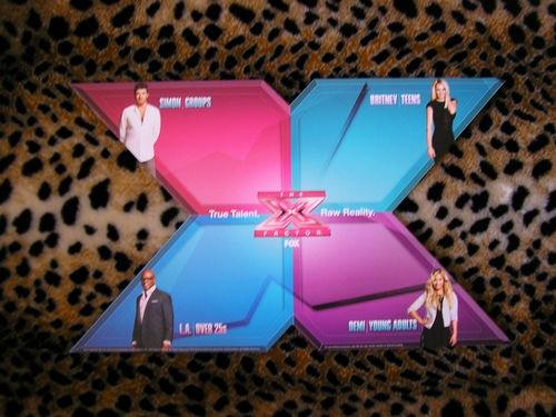 RARE x Factor Fox Judges Promo TV Show Britney Spears Simon Cowell Demi Lovato | eBay