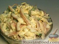 Фото к рецепту: Кальмары с сыром и чесноком