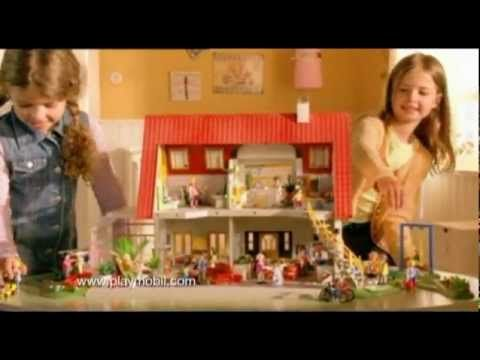La Villa Moderne Playmobil - YouTube