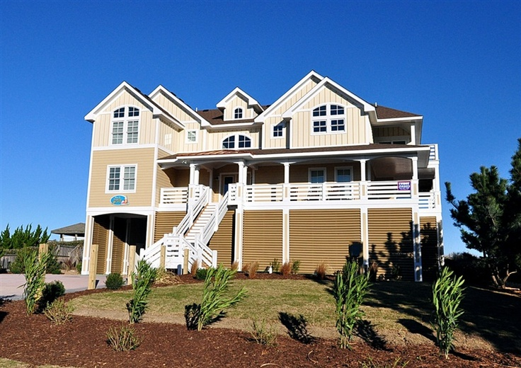 Twiddy Outer Banks Vacation Home Tupelo Honey Corolla Oceanfront 10 Bedrooms Vacation