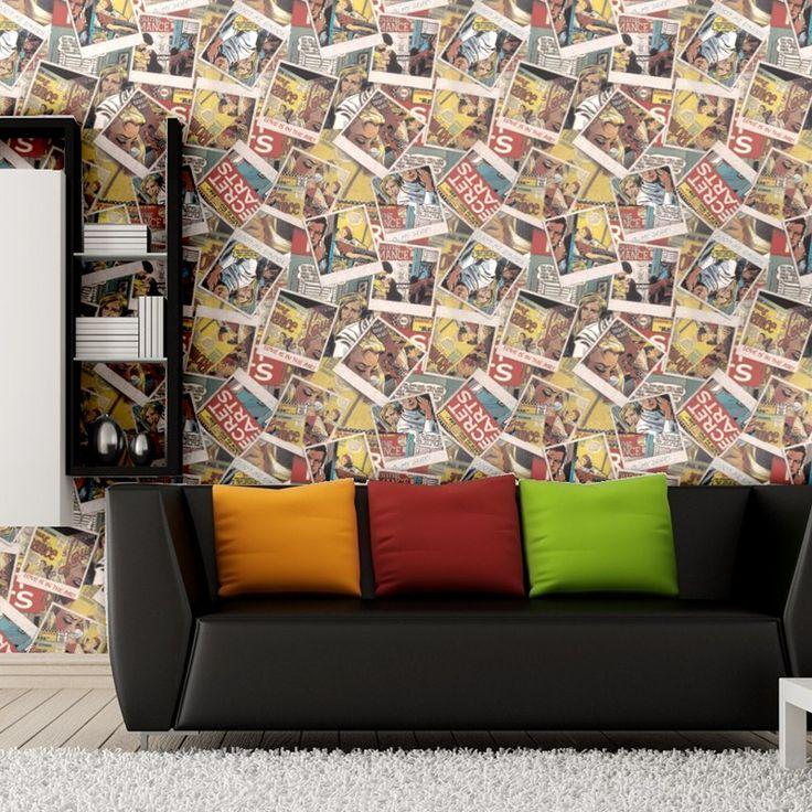 Плакат ретро-ностальгии газетчиков обои, парикмахерская, магазин одежды кафе кафе фон обои papel де parede