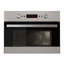 Genast Microwave Combi With Forced Air Ikea 5 Year Guarantee Read About The Terms In Brochure