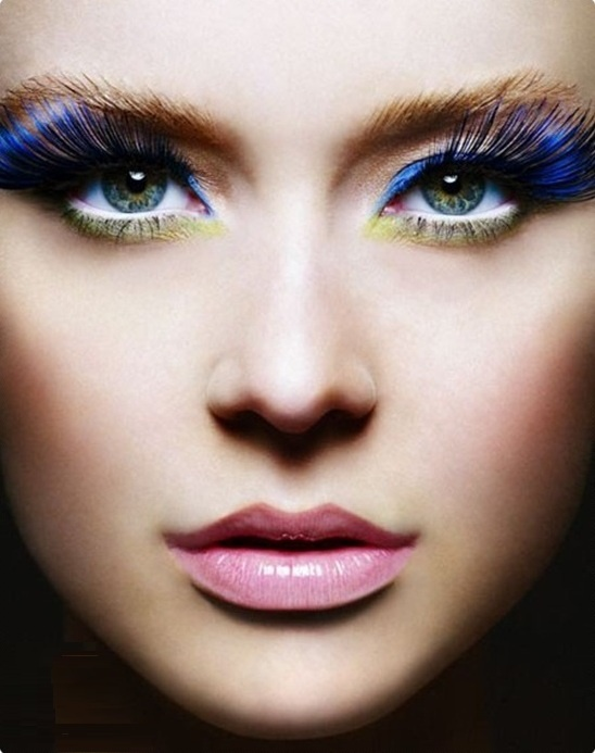 Veja: Dicas de maquiagem para o Carnaval 2013: Lipsticks, Google Search, Photos Shoots, Blue Eye, Glamorous Makeup,  Lips Rouge, Amazing Makeup, Blue Lashes, Mac Cosmetics