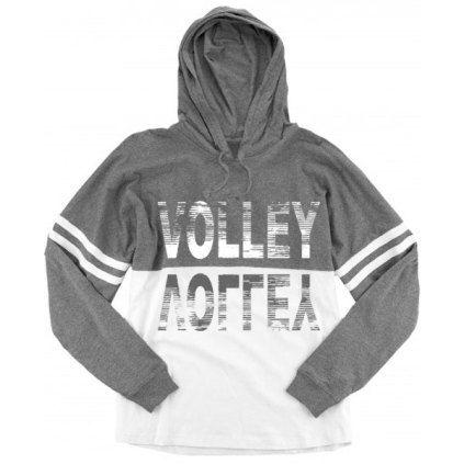 Spirit Volleyball Jersey - Grey/White