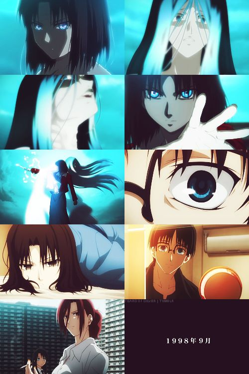 12 best images about kara no kyoukai on pinterest light - Kara no kyoukai the garden of sinners ...
