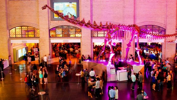 Friday nights from October 18 - December 6, the Royal Ontario Museum is the place to mingle, munch, dance and explore.