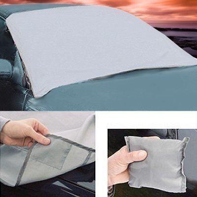 Fifth Gear Couverture de pare-brise magnétique universelle contre le gel avec étui: Cette couverture magnétique offre une ombre sur une…