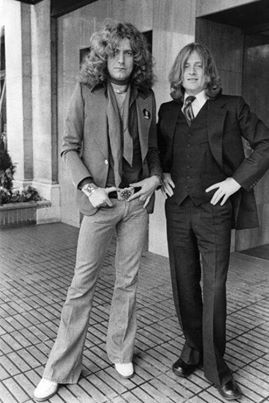 Robert Plant & John Paul Jones of Led Zeppelin #RobertPlant #JohnPaulJones…