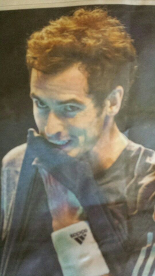 Andy Murray, after being trounced by Federer Nov 2014