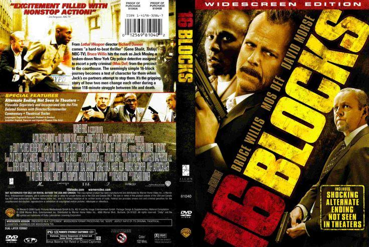 16 Blocks Formato Dvd Dvd Peliculas Portadas