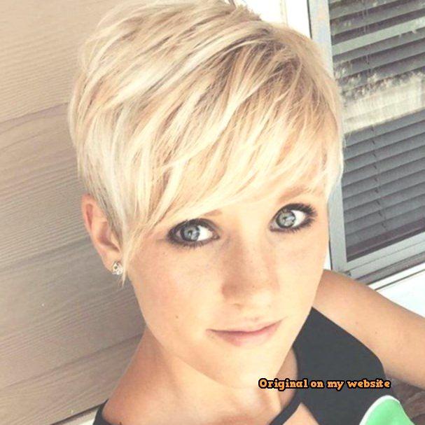 Trends Bob Frisuren -Charmante Kurzhaarfrisuren für Frauen mit blonden Haaren