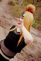 NRT Shippuuden Deidara: Mouth. by nohara-s