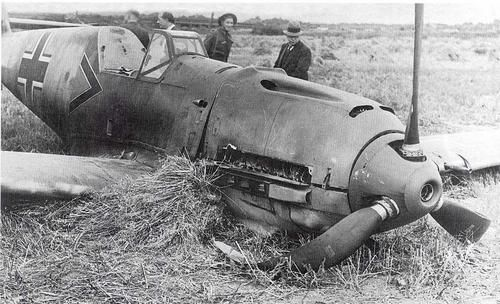 Paul Temme's Bf109-E