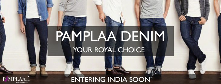 Pamplaa Denim entering in India soon. Stay tuned for more. #puredenim #royalchoice #authenticdenim #jeans #denimfashion
