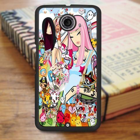 Tokidoki Japanese Cartoon Nexus 6 Case