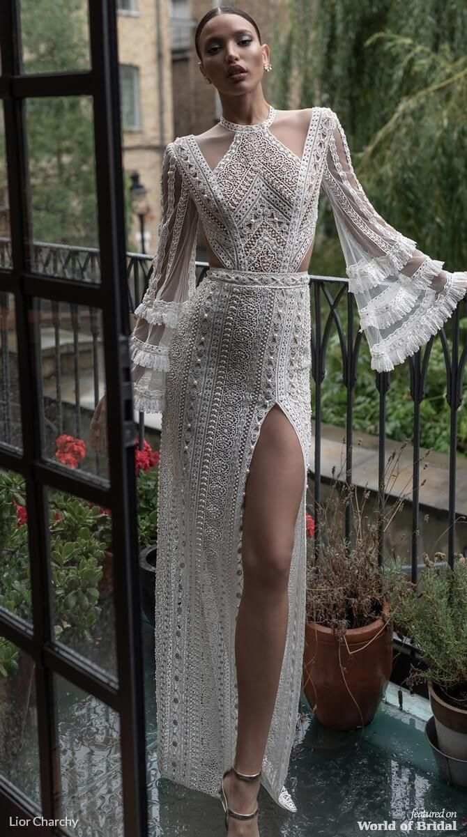 Lior Charchy Wedding Dress 2019 #brautdress #charchy #weddingdressideas