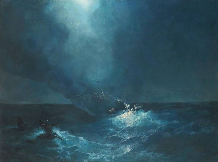 Ivan aivazovsky the birth of aphrodite 1887