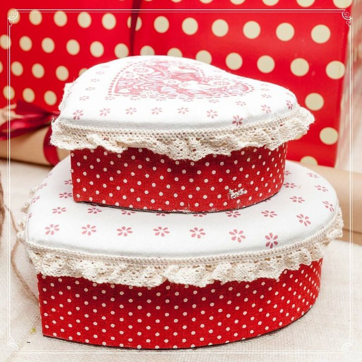 Heart Shaped Boxes - Home Sweet Home decorations