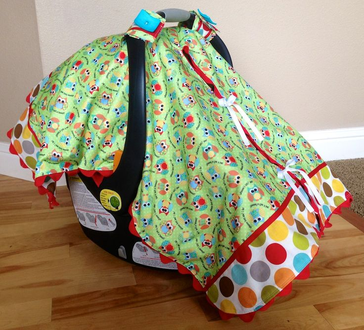 Here is how tomake one of those cute carseat canopiesto keep your little one protected from the weather and unwelcome germs. I love the front slit on this carseat canopy. Trust me, after having 3…