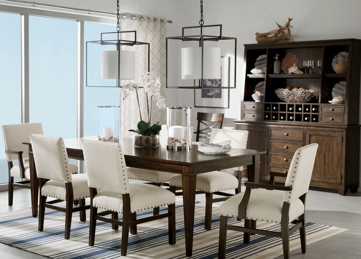 Arts And Crafts Dining Room. #EthanAllen #EthanAllenBellevue #ArtsandCrafts  #DiningRoom  Ethan Allen Dining Room Chairs