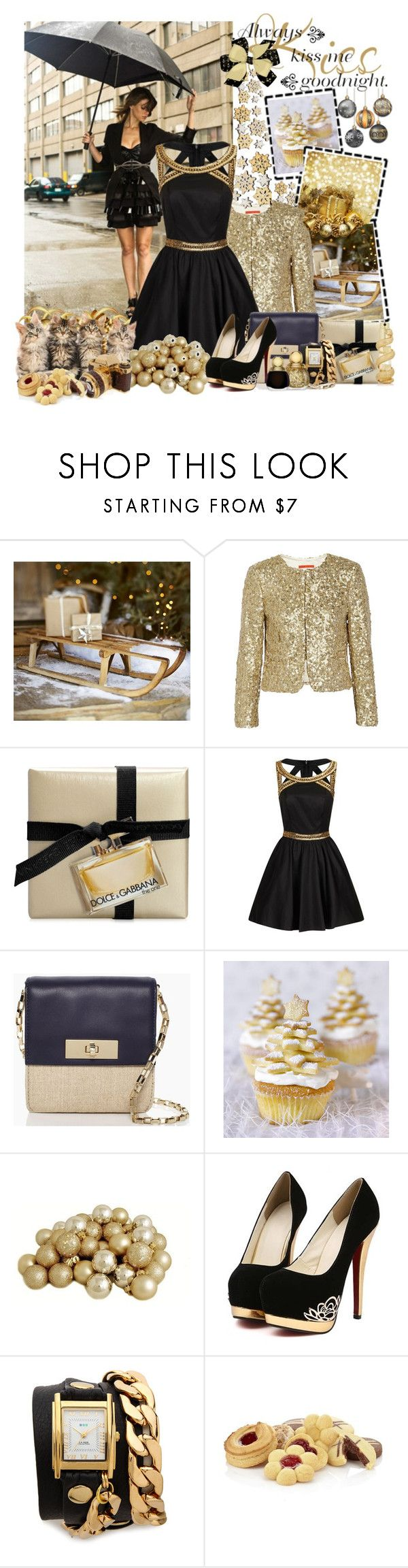 """Starlight, black holes and revelations"" by serenair ❤ liked on Polyvore featuring Pottery Barn, Alice + Olivia, Dolce&Gabbana, Chi Chi, Kate Spade, La Mer, Edition, Harrods and Kilian"
