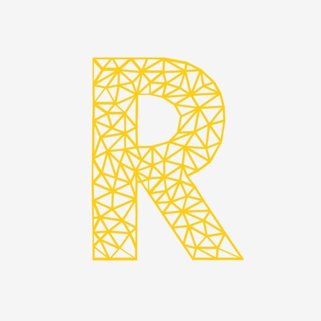 R Letter Logo Vector And Png Letter Logo Typography Hand Drawn B Letter Logo
