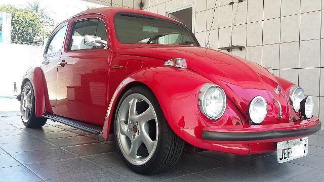 Vw - Volkswagen Fusca Itamar Turbo German Look - 1995 - Troco por lancha
