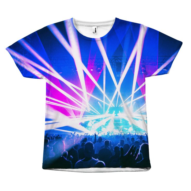 Electronic Dance Music Unisex Sublimated T-shirt